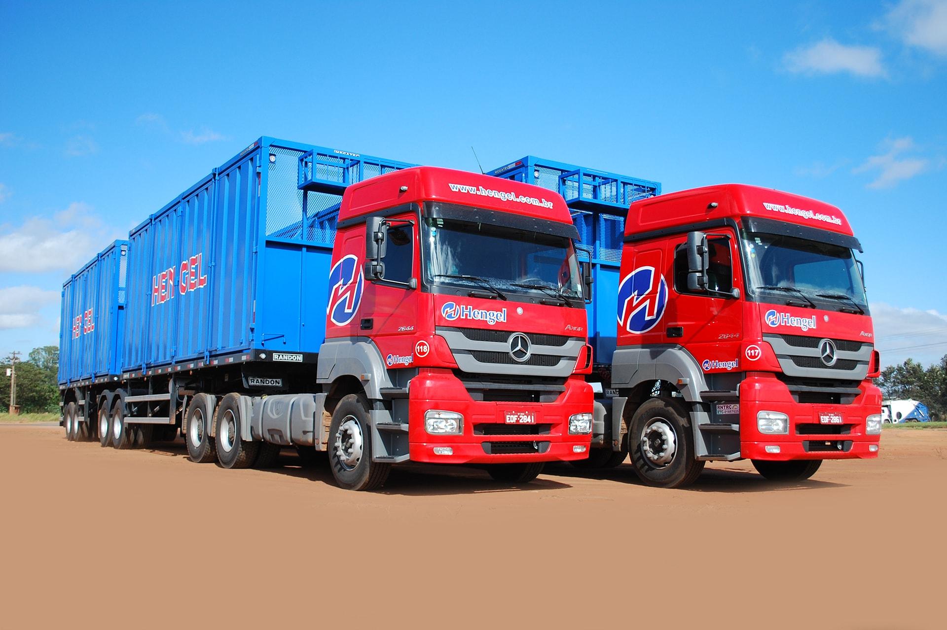 Hengel Transportes - Logística de Biomassa